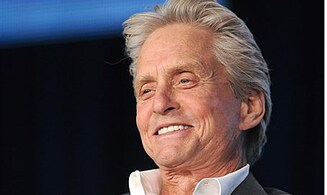 Michael Douglas Here For Million Dollar Prize