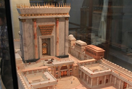 Model of Third Temple (illustration)