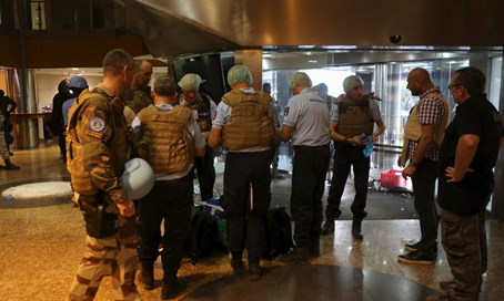 Scene of hostage taking in Mali