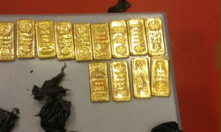 Gold smuggled by Jordanian diplomat