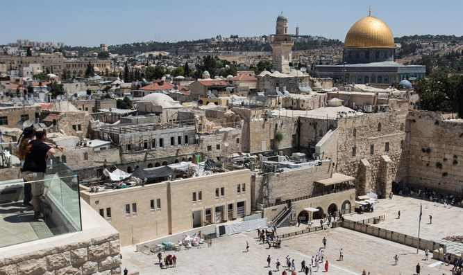 The Western Wall and the Temple Mountת