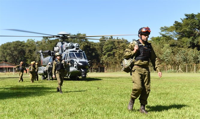 IDF aid delegation to Brazil