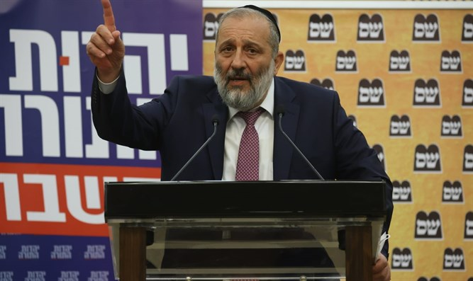 Min. Aryeh Deri: 'Netanyahu and I made a mistake in dissolving the Knesset'