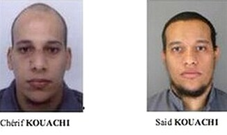 Magazine Publishes Pics of Dead Hebdo Terrorists