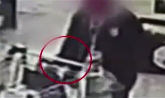 WATCH: Serial cell phone thief at work