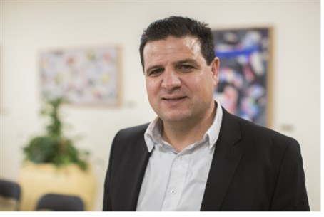 Aiman Odeh, head of united Arab list