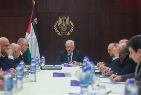 Mahmoud Abbas leads Palestinian National Council