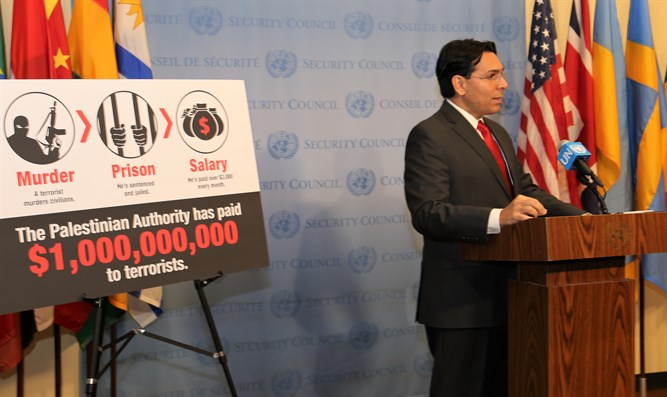 Danon speaking at UN