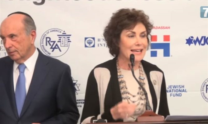 Rep. Jacky Rosen and martin Oliner