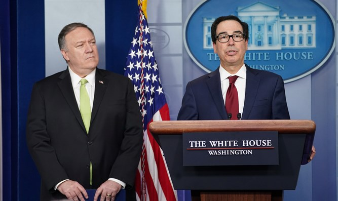 Mike Pompeo and Steven Mnuchin